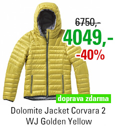 Dolomite Jacket Corvara 2 WJ Golden Yellow