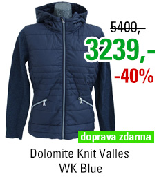 Dolomite Knit Valles WK Blue