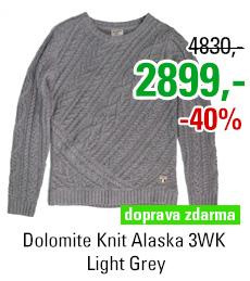 Dolomite Knit Alaska 3WK Light Grey