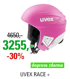 UVEX RACE + pink-white mat S566172900 17/18