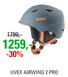 UVEX AIRWING 2 PRO titanium-orange mat S566132580 17/18