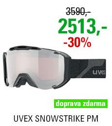 UVEX SNOWSTRIKE PM black mat/ltm silver, pola/lgl S5504182026
