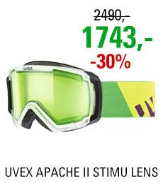 UVEX APACHE II STIMU LENS translucent mat/alert S5506310722