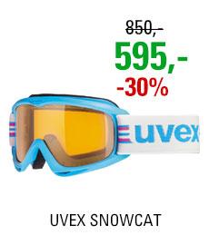 UVEX SNOWCAT cyan/lgl clear S5538154119
