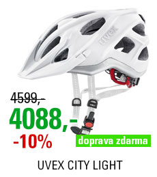 UVEX HELMA CITY LIGHT, WHITE MAT 2019