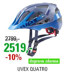 UVEX HELMA QUATRO, BLUE MAT 2019