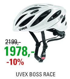 UVEX BOSS RACE, WHITE 2019