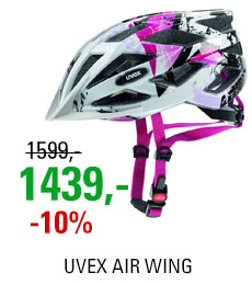 UVEX AIR WING, WHITE-PINK 2019