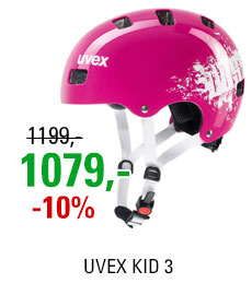 UVEX HELMA KID 3, PINK DUST 2019