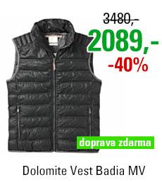 Dolomite Vest Badia MV Black