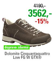 Dolomite Cinquantaquattro Low FG W GTX® Dark Brown