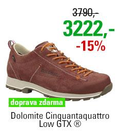 Dolomite Cinquantaquattro Low GTX ® Chocolate Brown