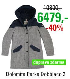 Dolomite Parka Dobbiaco 2 WPK Ligh Gry/Blu
