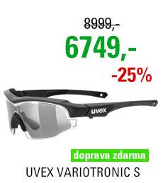 UVEX VARIOTRONIC S black mat (2299)