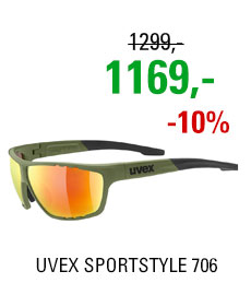 UVEX BRÝLE SPORTSTYLE 706, OLIVE GREEN
