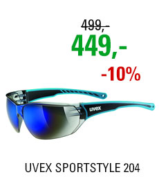 UVEX SPORTSTYLE 204, BLUE/BLUE