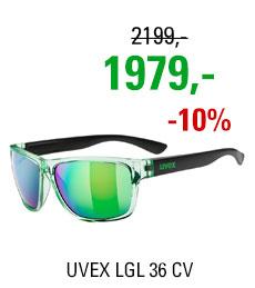 UVEX BRÝLE LGL 36 CV, GREEN BLACK