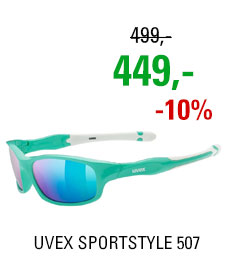 UVEX BRÝLE SPORTSTYLE 507, GREEN WHITE