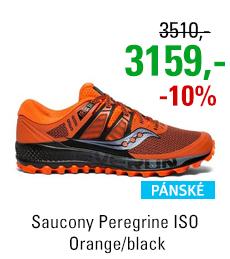 Saucony Peregrine ISO Orange/black