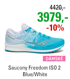 Saucony Freedom ISO 2 Blue/White