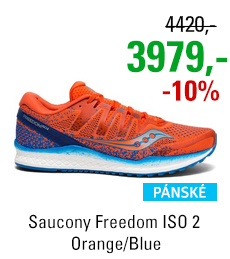 Saucony Freedom ISO 2 Orange/Blue