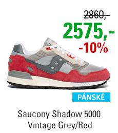 Saucony Shadow 5000 Vintage Grey/Red
