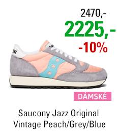 Saucony Jazz Original Vintage Peach/Grey/Blue