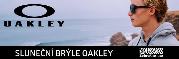 ZebraStore.cz - Oakley banner