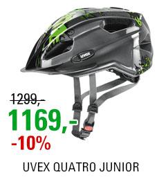 UVEX HELMA QUATRO JUNIOR, ANTHRACITE-GREEN 2019