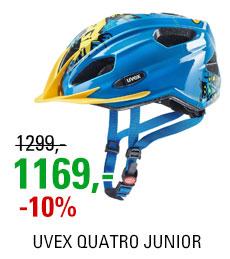 UVEX QUATRO JUNIOR, BLUE YELLOW 2019