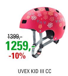 UVEX HELMA KID 3 CC, DARK RED