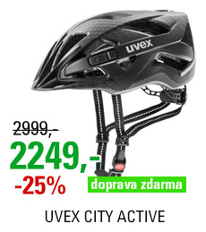 UVEX HELMA CITY ACTIVE, BLACK MAT 2019