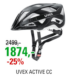 UVEX HELMA ACTIVE CC, BLACK-WHITE MAT 2018