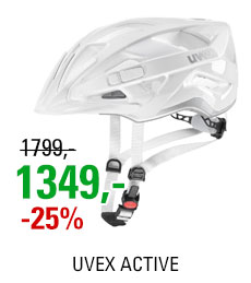 UVEX HELMA ACTIVE, WHITE SILVER 2019