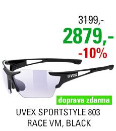 UVEX SPORTSTYLE 803 RACE VM, BLACK