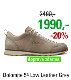 Dolomite Cinquantaquattro Low Leather Grey