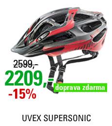 UVEX SUPERSONIC, BLACK RED-MAT