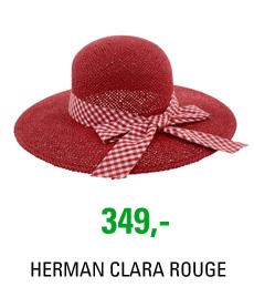 Klobouk HERMAN CLARA 350 ROUGE