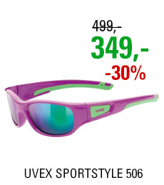 UVEX SPORTSTYLE 506 PINK GREEN