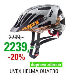 UVEX HELMA QUATRO, DIRT GREY 2019