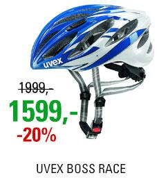 UVEX BOSS RACE, BLUE-WHITE