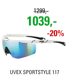 UVEX SPORTSTYLE 117, WHITE