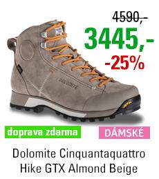 Dolomite Cinquantaquattro Hike Women GTX Almond Beige