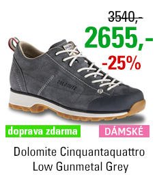 Dolomite Cinquantaquattro Low Gunmetal Grey