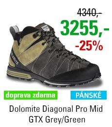Dolomite Diagonal Pro Mid GTX Grey/Green