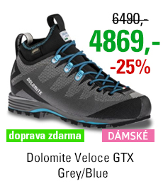 Dolomite Veloce GTX Women Grey/Blue