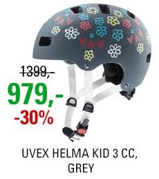 UVEX HELMA KID 3 CC, GREY