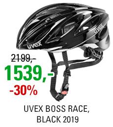 UVEX BOSS RACE, BLACK 2019