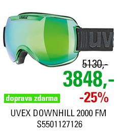 UVEX DOWNHILL 2000 FM CHROME green chrome S5501127126