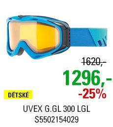 UVEX G.GL 300 LGL OTG ice mat/lgl S5502154029